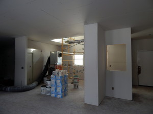 Looking toward the Kitchen from the Great Room.